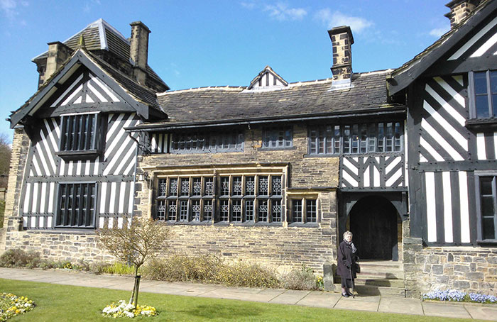Helena Whitbread at Shibden Hall